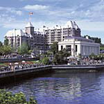 Seattle - Victoria Ferry Specials. Hotel Grand Pacific Clipper Ferry Package Victoria BC